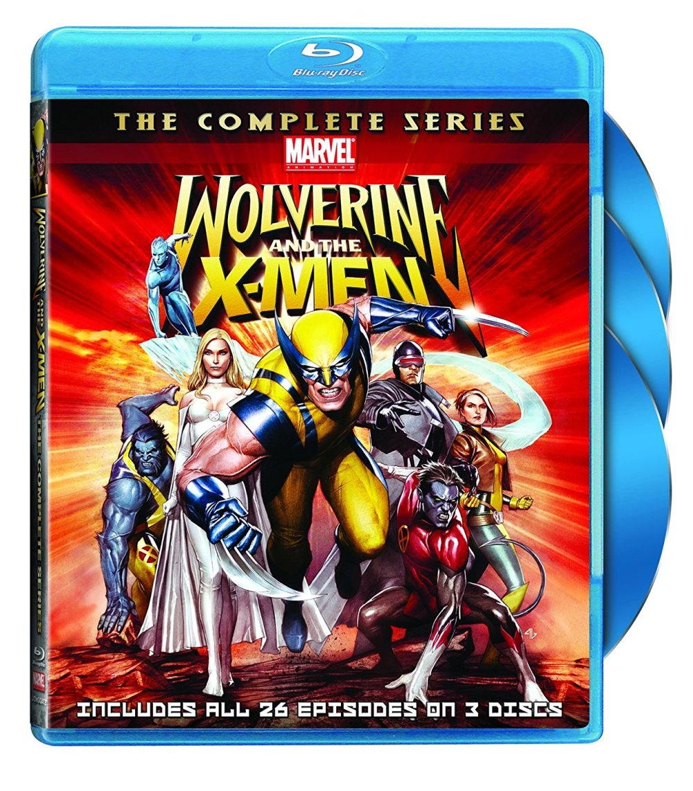 Wolverine and X-Men Blu-ray