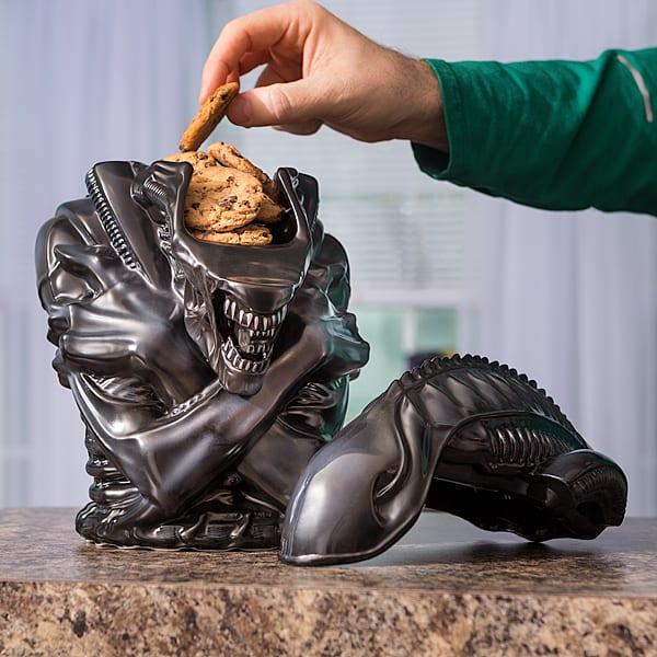 Warrior Alien Cookie Jar