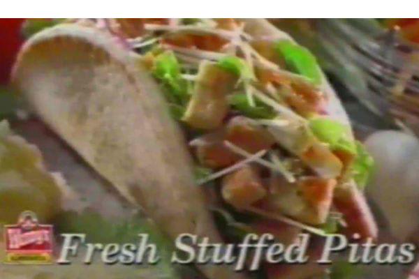 Wendy's Pita Wraps
