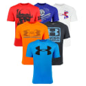 3 Under Armour Men's Mystery Tech T-Shirts for $35 + free shipping