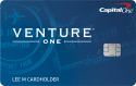 Capital One® VentureOne® Rewards Credit Card: 20,000 bonus miles