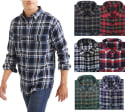 4 National Outfitters Men's Flannel Shirts for $28 + free shipping