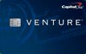 Capital One® Venture® Rewards Credit Card: 50,000 bonus miles