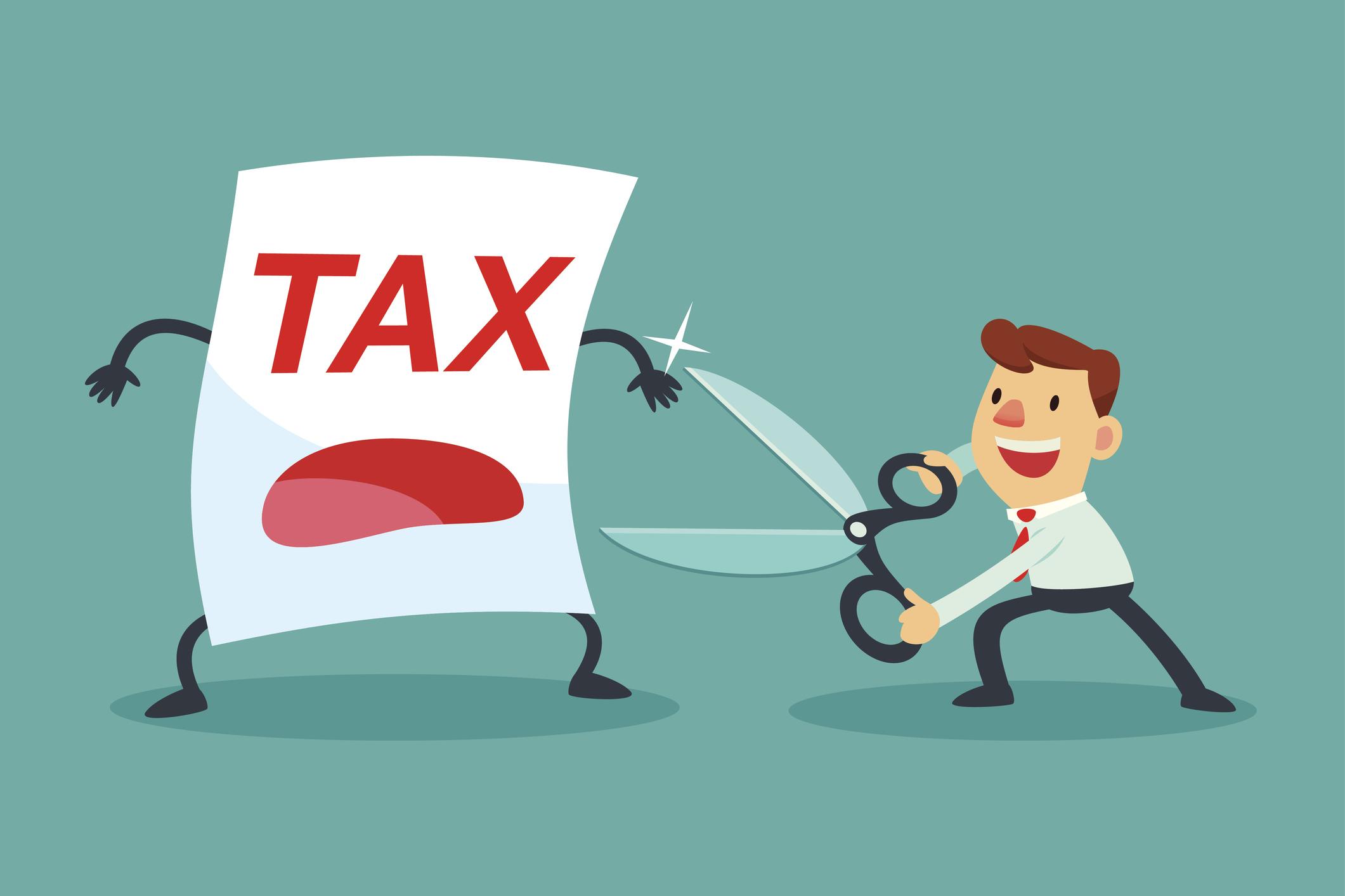 tax cutting