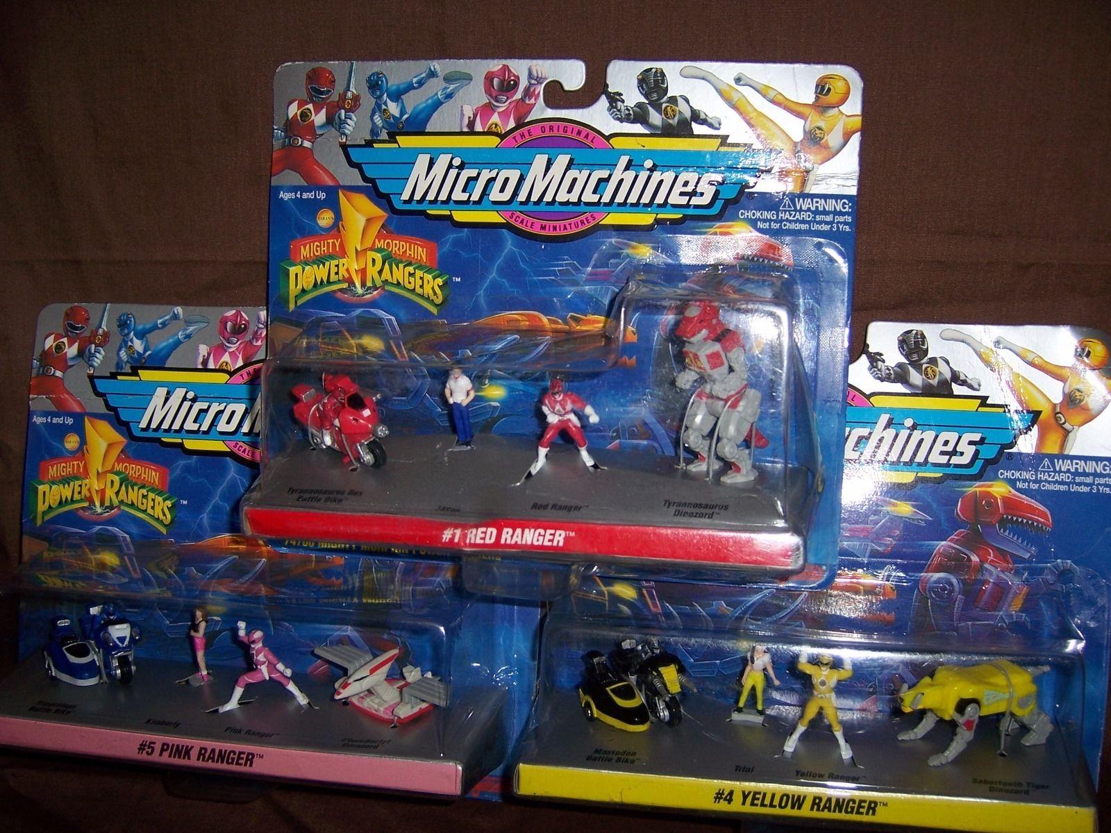 Power Rangers Micro Machines