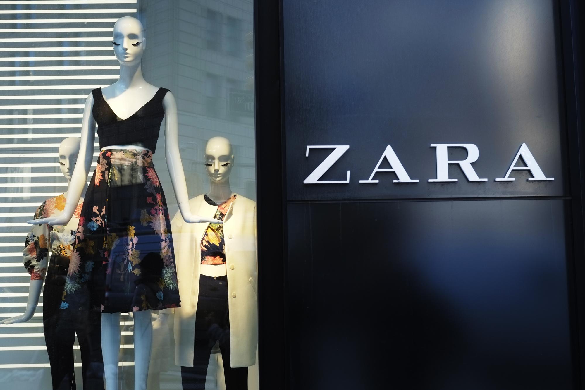 Zara closing stores