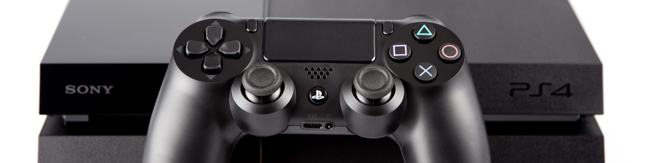 PlayStation controller and console