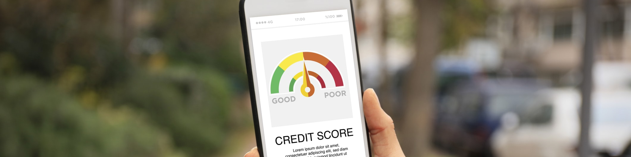 credit score on mobile