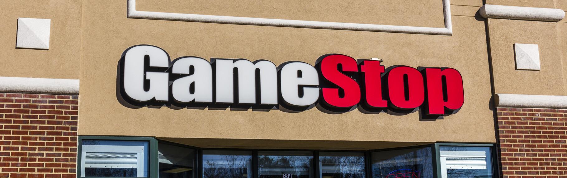 GameStop sign
