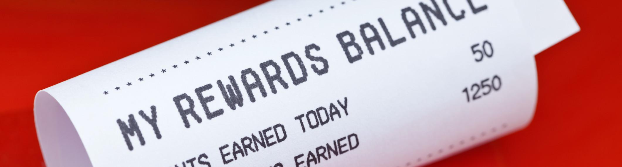 rewards receipt