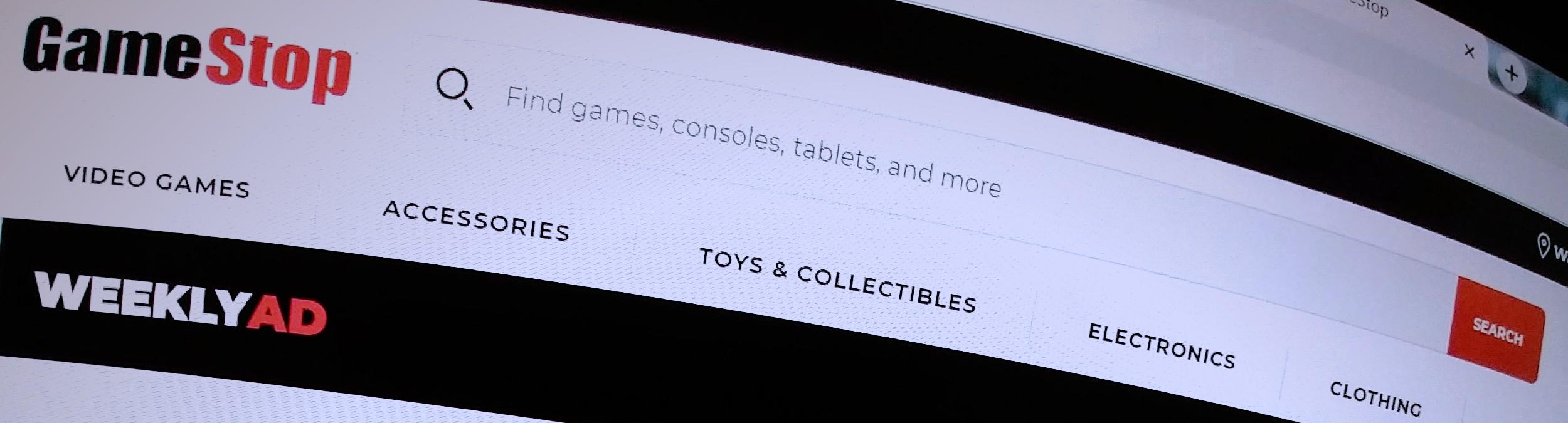 GameStop online