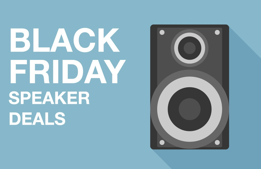 Black Friday speaker deals