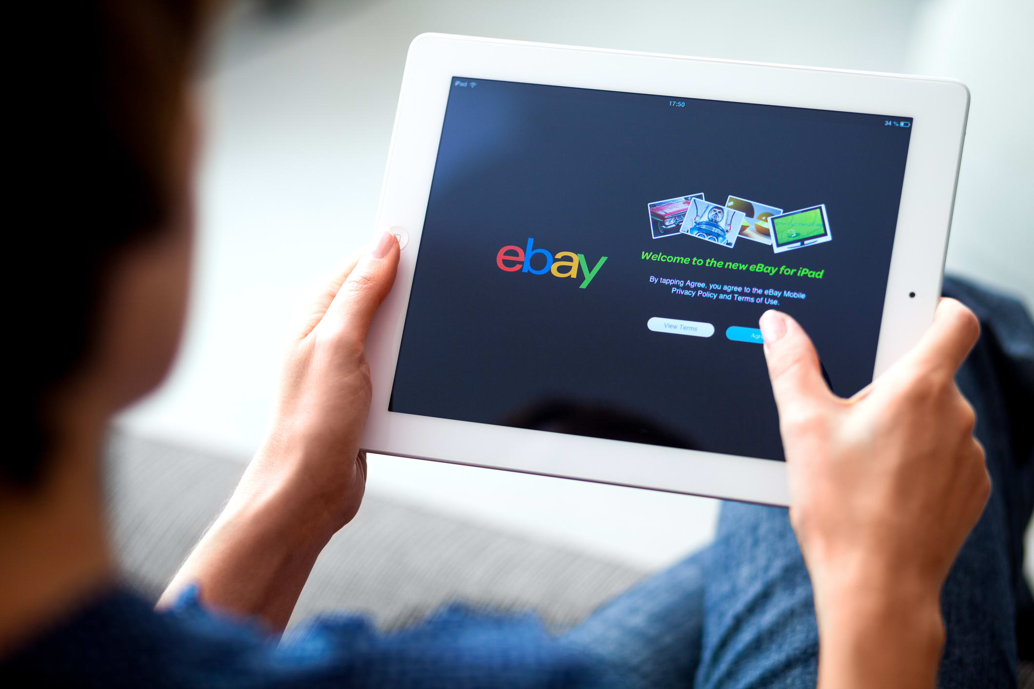 eBay on iPad