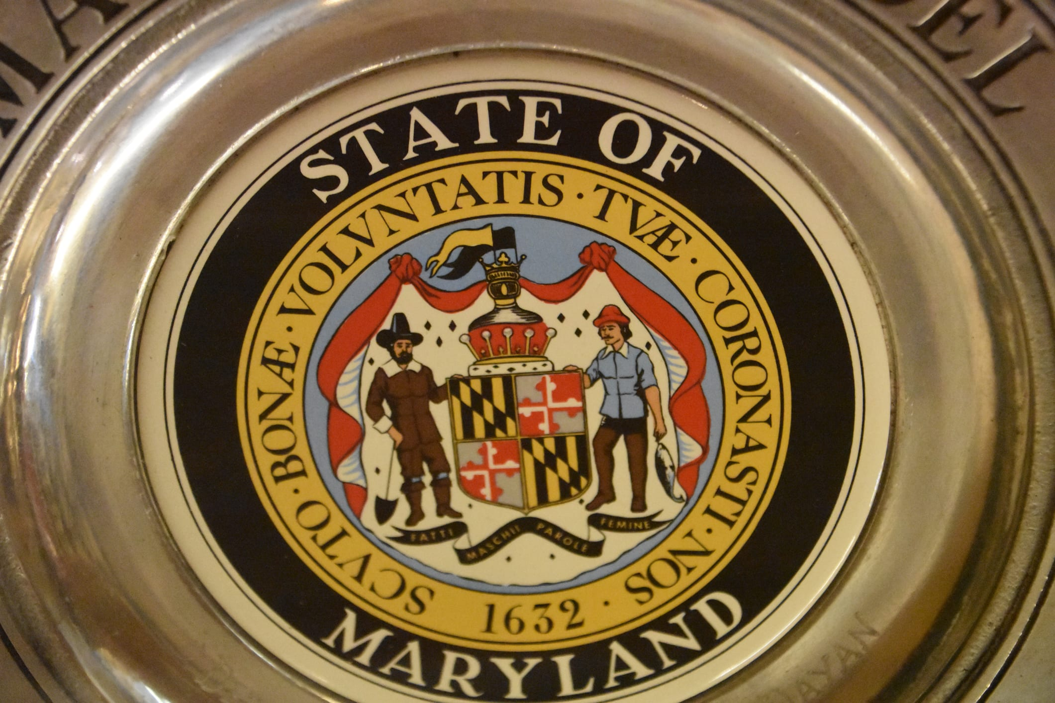 Golden Plate of Maryland