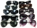 8 Pairs of Name Brand Sunglasses for $15 + free shipping
