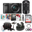 Sony a6000 Camera w/ Lenses Bundle for $589 + free shipping