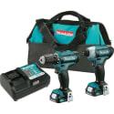 "Refurb Makita CXT 12V Li-Ion 1/4"" Impact Driver & 3/8"" Drill Driver Kit for $77 + free shipping"