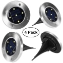 Yunlights LED Solar Lights 4-Pack for $15 + free shipping