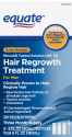 Equate Minoxidil Men's Hair Growth Treatment for $10 + pickup at Walmart
