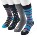 24 Pairs of Funky Socks Men's Crew Socks for $24 + free shipping
