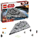 LEGO Star Wars First Order Star Destroyer for $120 + free shipping