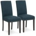 2 BCP Upholstered Parsons Dining Chairs for $85 + free shipping
