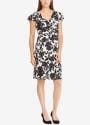 Lauren Ralph Lauren Women's Flutter Dress for $76 + free s&h w/beauty item