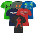 Under Armour Boy's Mystery T-Shirt 5-Pack for $40 + free shipping