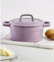 Martha Stewart 2-Quart Cast Iron Dutch Oven for $30 + free s&h w/beauty item