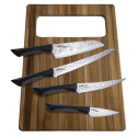 Kai Luna Professional Knife Set with Sheaths & Cutting Board for $29 + $5 s&h