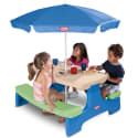 Little Tikes Picnic Table w/ Umbrella for $50 + free shipping