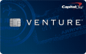 Capital One® Venture® Rewards Credit Card: 50,000 bonus miles