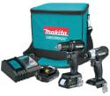 Makita 18V LXT Cordless 2-Drill Combo Kit for $152 + free shipping