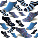 Pairs of Women's No-Show Socks for $10 for 18 + free shipping
