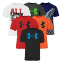 Under Armour Boys' T-Shirt 3 Pack for $27 + free shipping