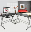 L-Shape Computer Gaming Desk for $78 + free shipping