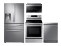 Samsung Stainless Steel Premium Kitchen Upgrade Bundle for $3,731 + free shipping