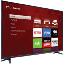 "Refurb TCL 55"" 4K HDR LED UHD Roku Smart TV for $247 + pickup at Walmart"