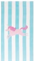 Pottery Barn Kids Unicorn Stripe Beach Towel for $7 + free shipping