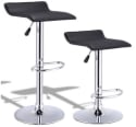 2 Costway Backless Swivel Bar Stools for $49 + free shipping