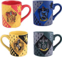 Harry Potter Hogwarts House Mugs 4-Pack for $20 + free shipping