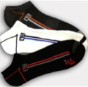 8 Pairs of Fila Men's No-Show Ankle Socks