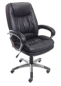 Realspace Harrington High-Back Leather Chair for $80 + free shipping, padding