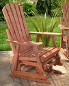 Adirondack Single Glider Chair for $80 + $5 s&h, Double Glider Chair for $120