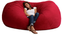 Fuf 7-Foot Suede Bean Bag Chair