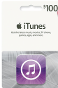 $100 Apple iTunes eGift Card