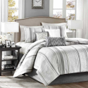 Madison Park Lowery 7-Piece Jacquard Comforter Set