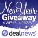 Winner of the Kindle Fire in the New Year Giveaway from dealnews