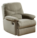 Acme Oakwood Microfiber Recliner + pickup at Walmart