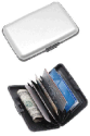 2 Aluminum RFID-Blocking Credit Card Wallets